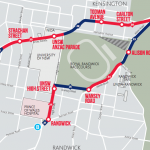 CBD and South East Light Rail lines